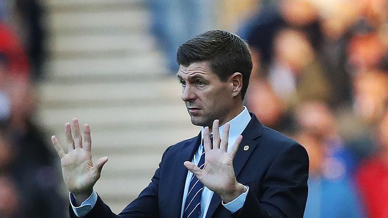 Steven Gerrard remains unbeaten as Rangers manager