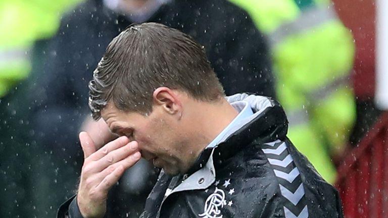 Rangers manager Steven Gerrard offered to shoulder the blame for Motherwell's last-gasp equaliser