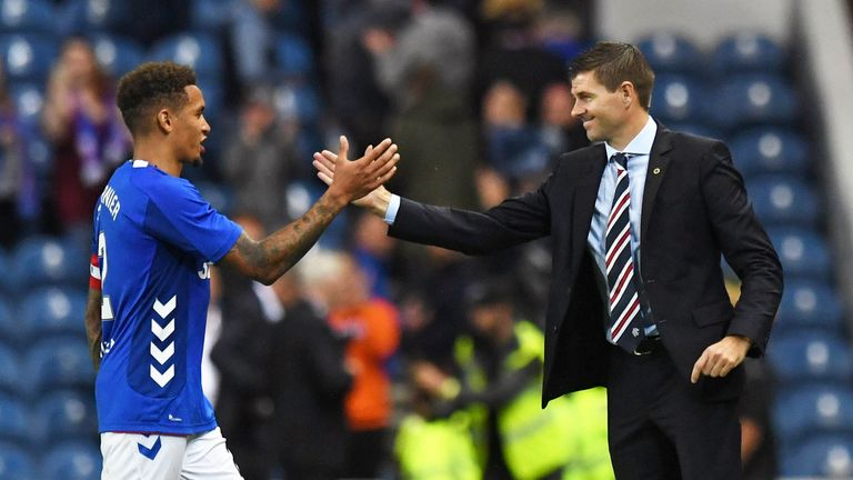 Gerrard praised James Tavernier's performance against Maribor at Ibrox
