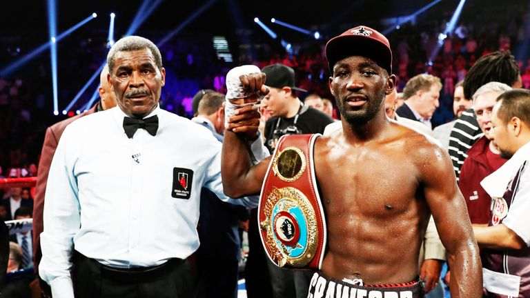 Who is Terence Crawford and what is his boxing record?