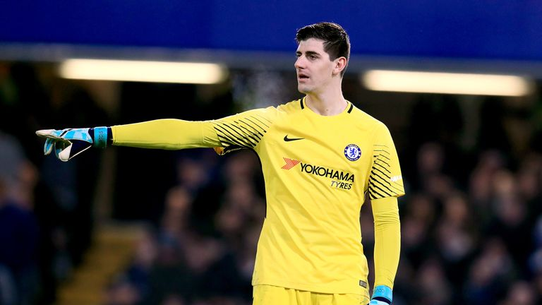 Thibaut Courtois left Stamford Bridge with less than a year remaining on his contract last August