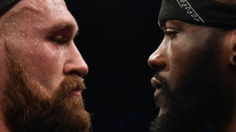 Fury and Wilder are expected to meet in the US later this year