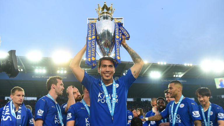Ulloa was part of Leicester's 2015/16 Premier League winning side.