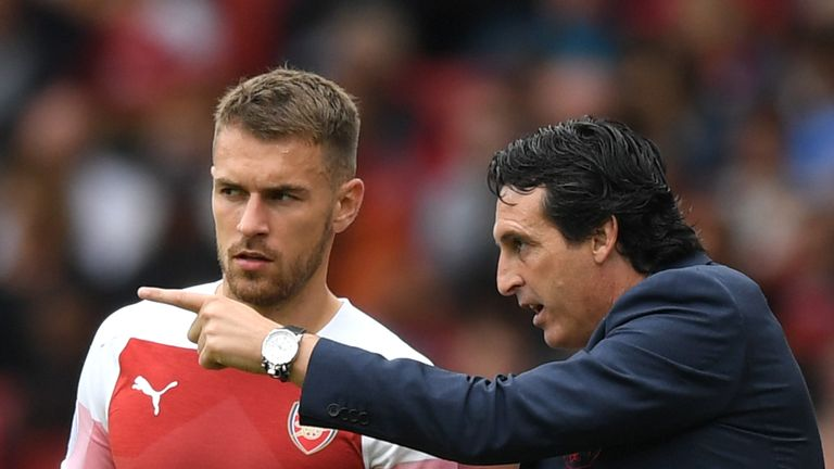 Aaron Ramsey's future at Arsenal is in doubt