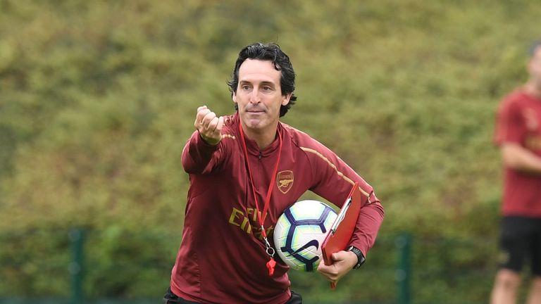 Unai Emery replaced Arsene Wenger