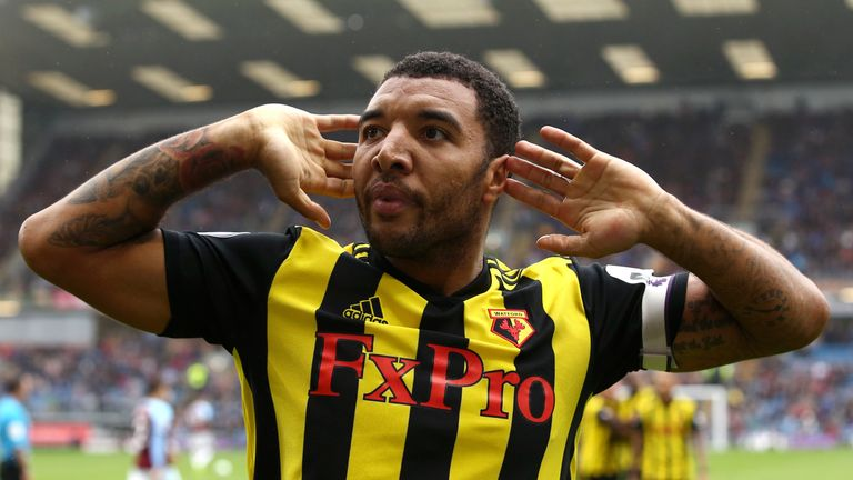 Troy Deeney has helped Watford to three successive wins