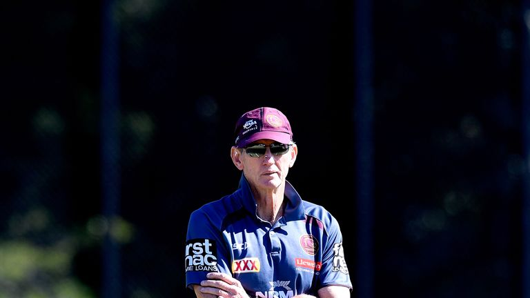 England head coach Wayne Bennett is one of a number of coaches currently embroiled in a convoluted NRL rumour mill