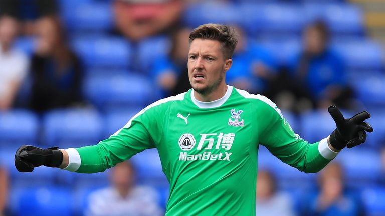 Crystal Palace goalkeeper Wayne Hennessey denies making Nazi salute