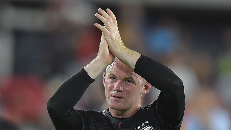 Wayne Rooney also scored twice in DC United's 5-0 win against Montreal Impact