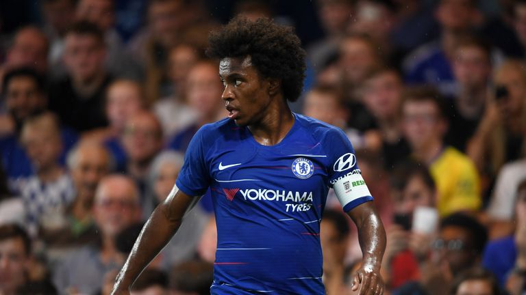 The Brazil international insists he always intended to remain with Chelsea