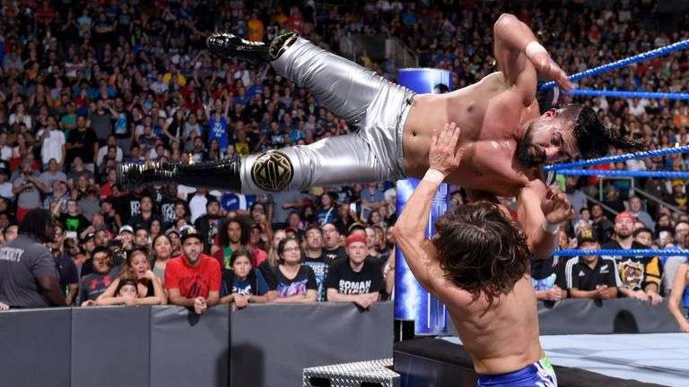 Could a rising star highly qualified as Andrade One Hundred Souls benefit from the planned changes in SmackDown?
