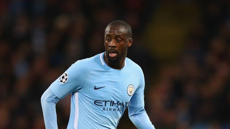 Yaya Toure spent eight years at Manchester City but is now a free agent