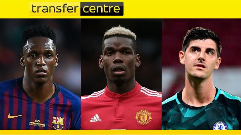 Could Yerry Mina, Thibaut Courtois or even Paul Pogba be on the move?
