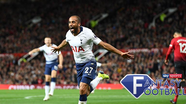 Lucas Moura topped the Sky Sports Fantasy Football charts