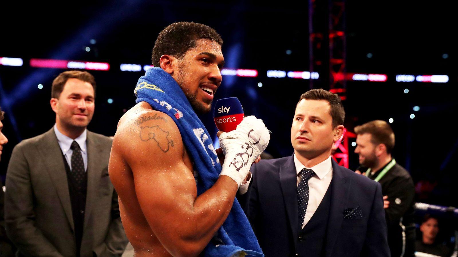 dba3f17b Whyte vs Chisora 2: Heavyweight rivals make their predictions | Boxing News  | Sky Sports