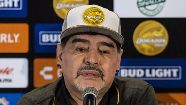fifa live scores - Diego Maradona reflects on struggles with addiction after joining Mexican club Dorados