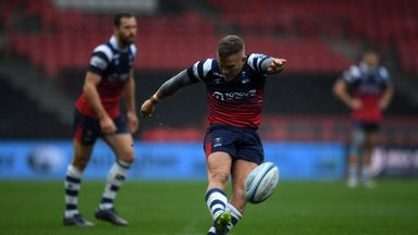 Ian Madigan kicked five penalties as Bristol beat Harlequins at Ashton Gate