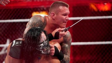 Randy Orton is no stranger to the type of violence he inflicted on Jeff Hardy at Hell In A Cell