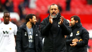 fifa live scores -                               Nuno hails 'growing' Wolves