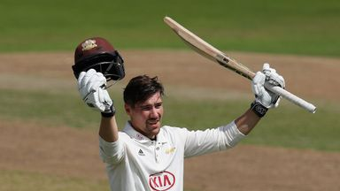 Rory Burns has received his maiden England call-up