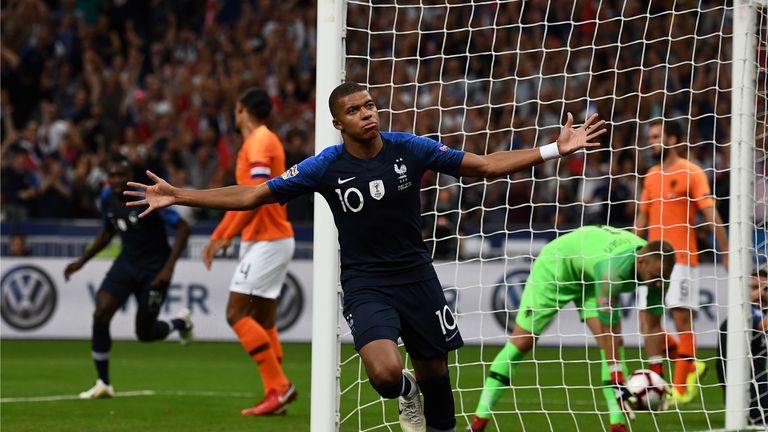 Netherlands entertain France in the Nations League on Friday live on Sky Sports
