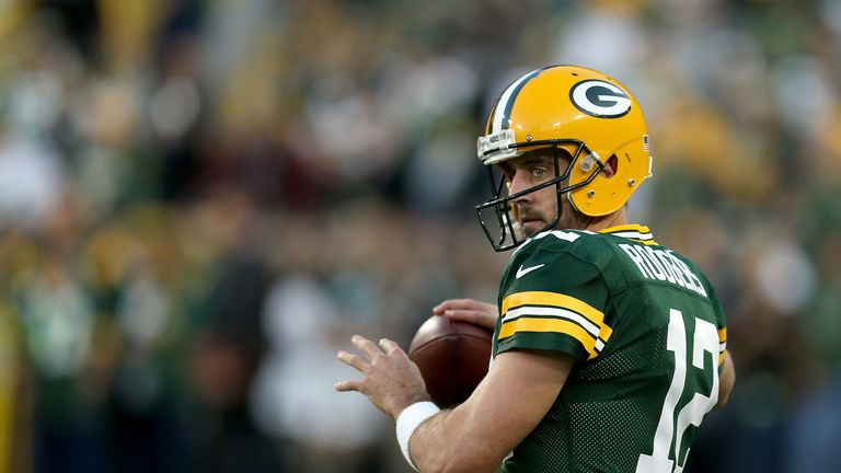 Aaron Rodgers makes Adam Rank's Week Five team, but who else?
