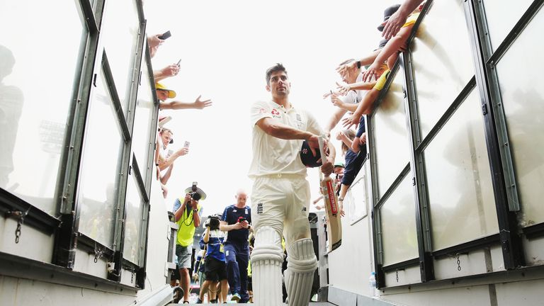 Relive some of Alastair Cook's greatest moments in an England shirt