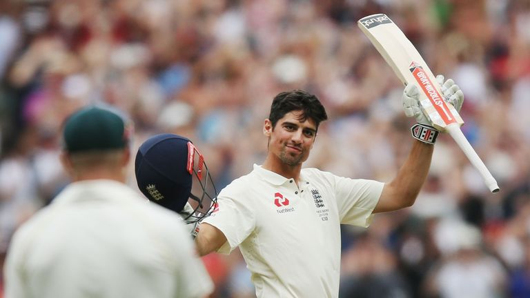 Cook has scored 32 Test hundreds, the most by an Englishman