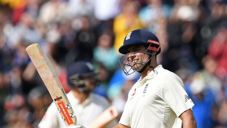 Cook has score 32 Test centuries for England