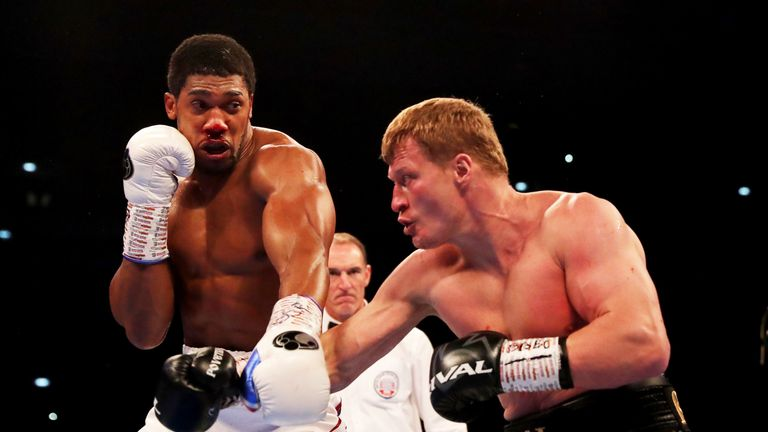 Povetkin's early aggression troubled Anthony Joshua at Wembley