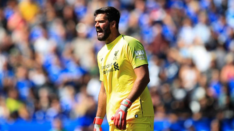 Alisson was at fault for Leicester's goal in Liverpool's 2-1 win on Saturday