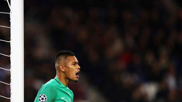 Alphonse Areola made his international debut against Germany last week