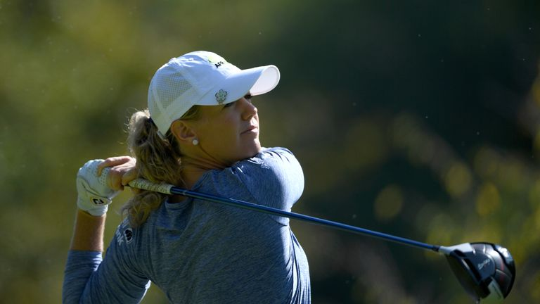 Angela Stanford wins at Evian for 1st career major title