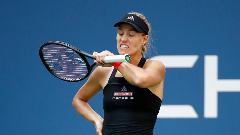 Angelique Kerber became the latest high-profile exit at the US Open