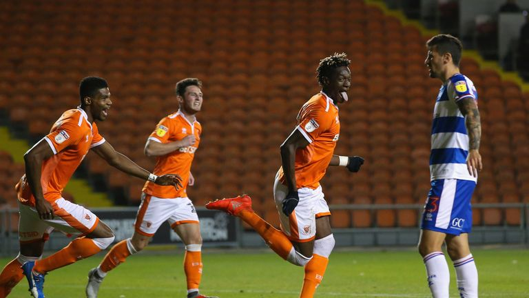 McPhillips rues red card after Blackpool threaten Arsenal in Carabao Cup