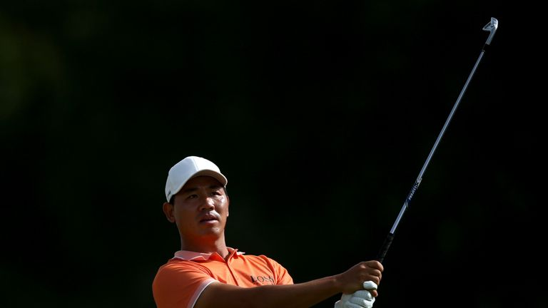 Ashun Wu leads KLM Open on 7-under 64