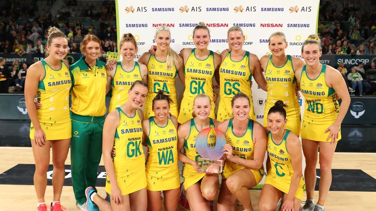 Australian Diamonds sealed their fourth Quad Series triumph