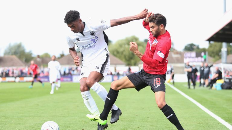 Boreham Wood lost 6-5 on penalties to Dunfermline at Meadow Park