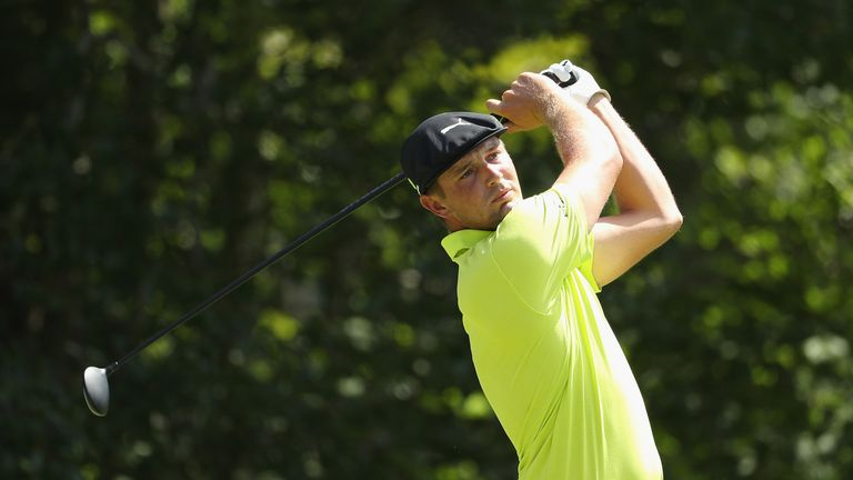 DeChambeau is chasing a second victory in as many weeks on the PGA Tour