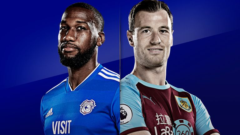 Cardiff City v Burnley is live on Sky Sports Premier League from 3.30pm on Sunday
