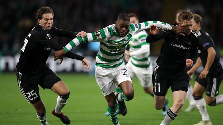 Celtic struggled to create many clear-cut chances