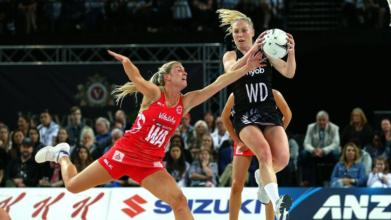 England were too strong for the Silver Ferns as they pulled away in the fourth quarter