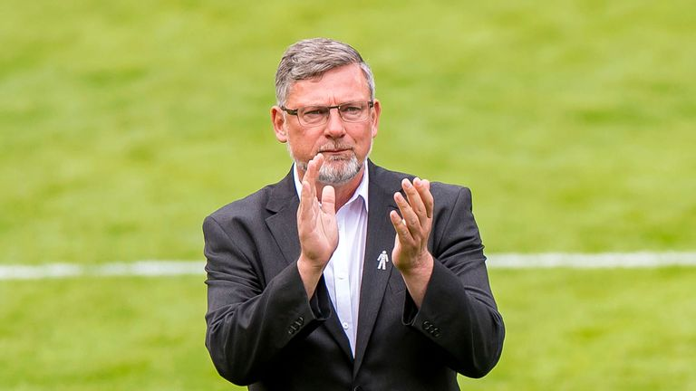 Hearts manager Craig Levein believes his side can get a result at Ibrox