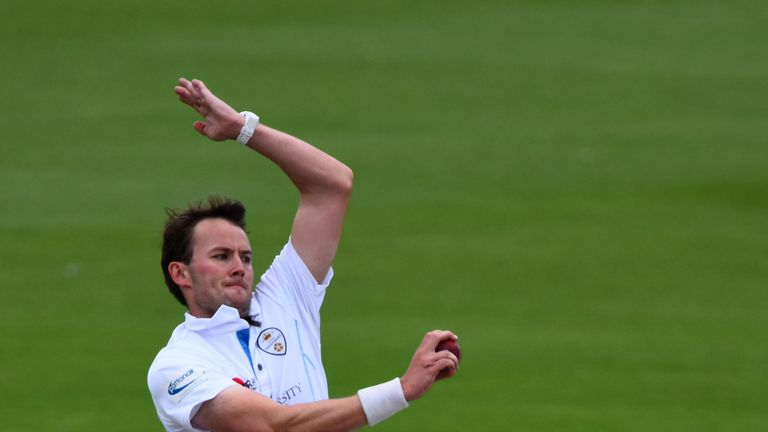 Palladino's six wickets have put Derbyshire in a winning position
