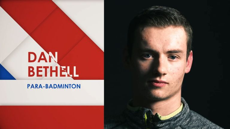 Dan Bethell, My Icon screengrab, badminton