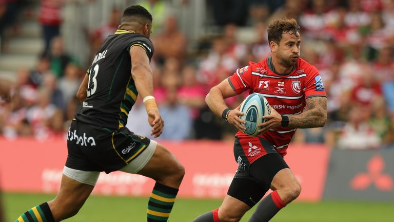 Danny Cipriani has impressed for his new side Gloucester