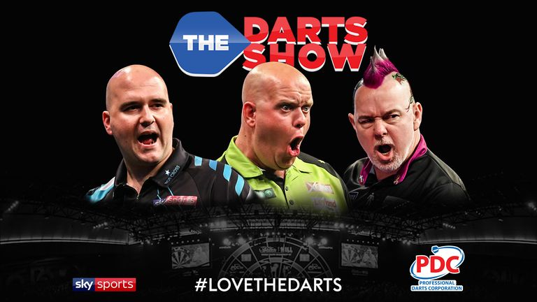The Darts Show podcast will be on location at Alexandra Palace throughout this year's World Championship