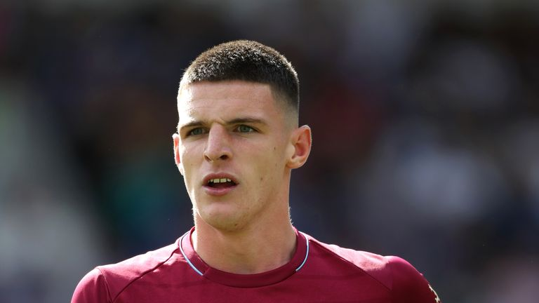 Declan Rice has made a strong start to the season with West Ham