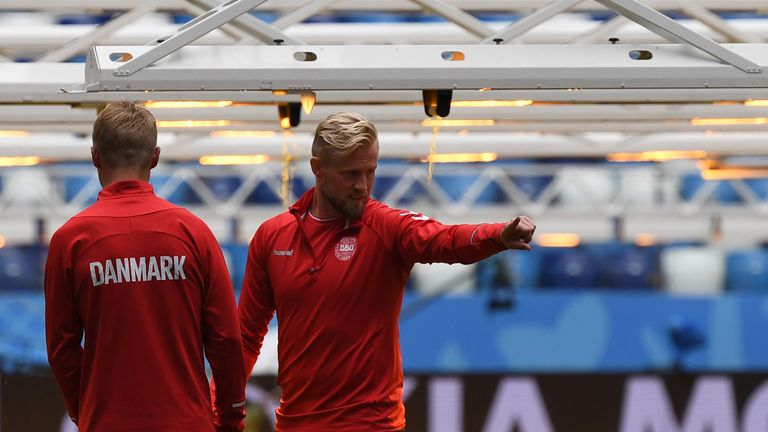 Denmark are ranked ninth in the world by FIFA