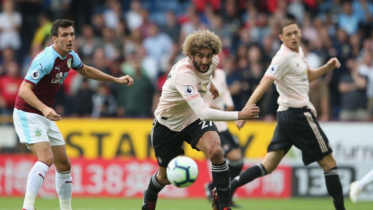 Fellaini impressed Danny Higginbotham and Ian Wright with his performance at Burnley
